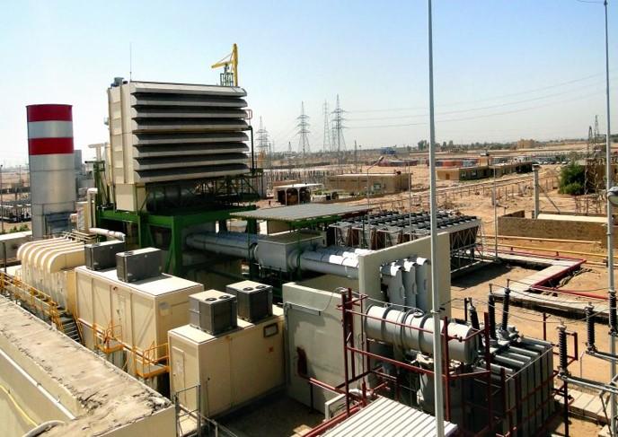 احداث نیروگاه گازی ديبيس عراق