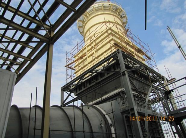 طراحی ، تامين و ساخت نيروگاه ۱۵۷/۲ × ۲ مگاوات الصدر عراق