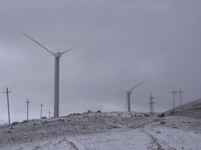 Armenia Pushkin-Pass 10.6 MW Wind Power Plant