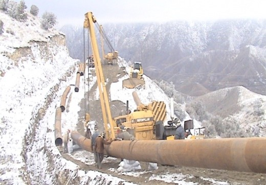 Iran – Armenia Gas Transmission Project 40 KM Pipeline
