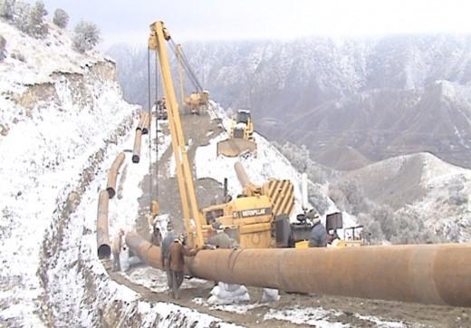 Iran – Armenia Gas Transmission Project 40 KM Pipeline