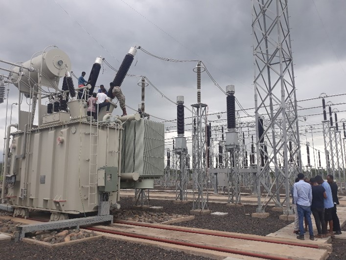ETHIOPIA  / Wolkait 230/33/15 KV Substation