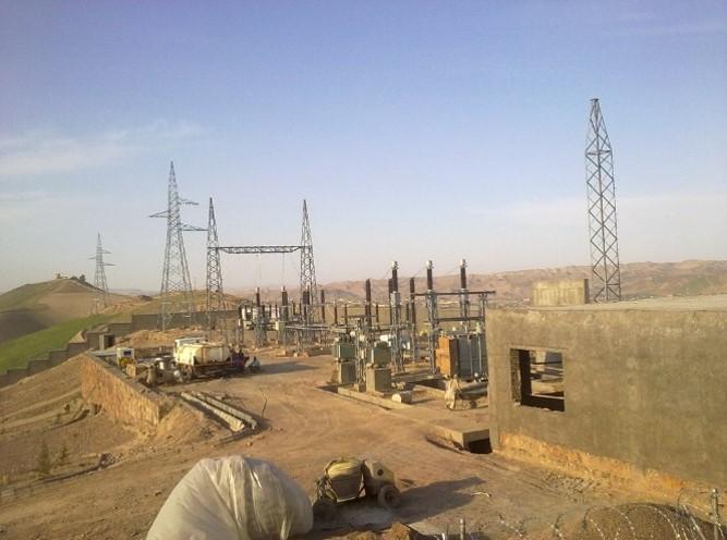 Turkmenistan to Afghanistan 110 KV Transmission lines and 110/20 KV Substation