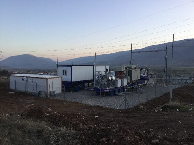 Kurdistan Region 4 Mobile Substations 132/11 KV