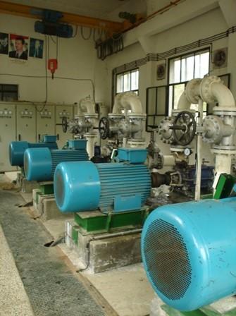 Проектирование и поставка электромеханического и гидромеханического оборудования для насосной станции и выполнение строительных работ в районе «Тадаф и Аль-Баб» в городе Халаб (Ирак).