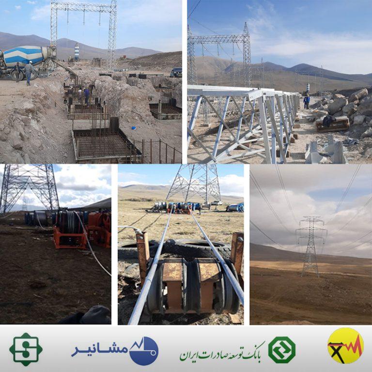 بانک توسعه صادرات ایران حامی صنعت صادرات خدمات فنی و مهندسی برق ایران