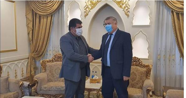 دیدار مدیر عامل شرکت صانیر با سفیر جمهوری ازبکستان