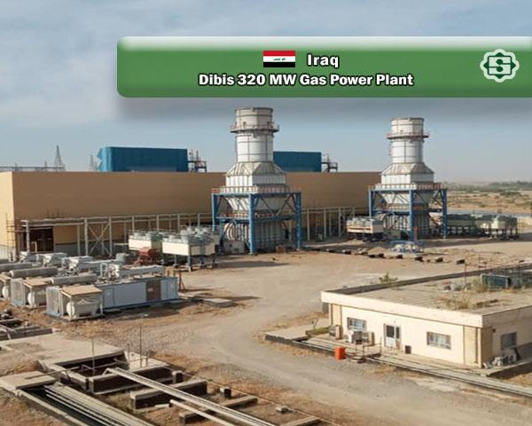 تداوم فعالیتهای اجرایی پروژه احداث نیروگاه گازی 320 مگاواتی دبیس عراق