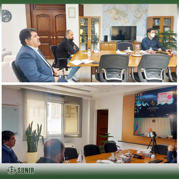 جلسه مجازی با شرکت هایون در خصوص پروژه خط سوم انتقال برق ارمنستان