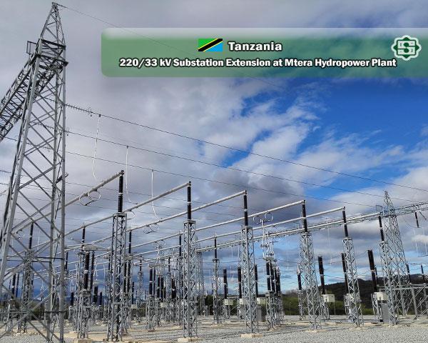 مشروع تطویر محطة 33/220کیلو فولط تولید سد MTERA تانزانیا