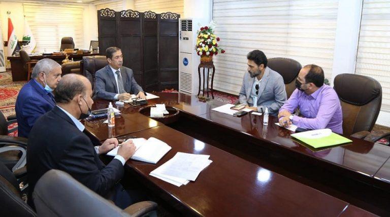 أتفاق مع وزارة الصناعة العراقیة بخصوص محطة تولید معمل السکرالعمارة