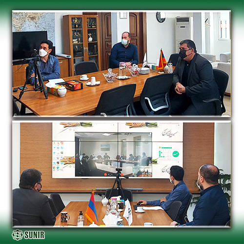 بررسی آخرین وضعیت پروژه خط سوم ارمنستان در جلسه مجازی با شرکت توانیر